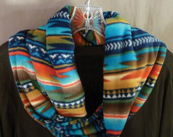 Indian/Eastern style flannel scarf