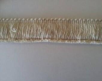 Ivory Brush Fringe