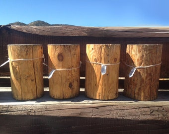 Firepit Tree Stump Exterior Stand