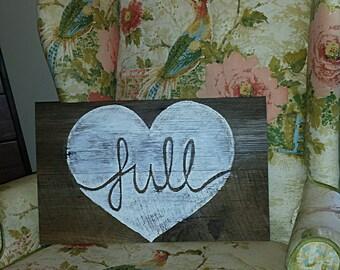 Full Heart Sign