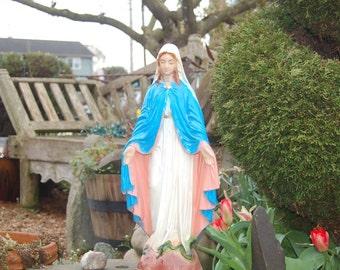 Delightful Mary Garden Statue | Etsy