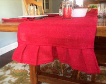 5 foot table runner etsy for 12 ft table runner
