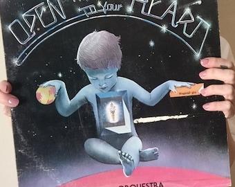 vintage vinyl FUNK/soul/disco  j o b Orquestra // Open the doors to your HEART govinda productions Jorge Barreiro The Bhagavad-Gita