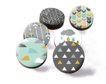 Drawer knobs drawer pulls cupboard knobs dresser knobs - Boutons tiroirs originaux ...
