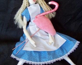 Custom Cloth Doll, Stuffed Fabric Character, Rag Doll, Art Doll,
