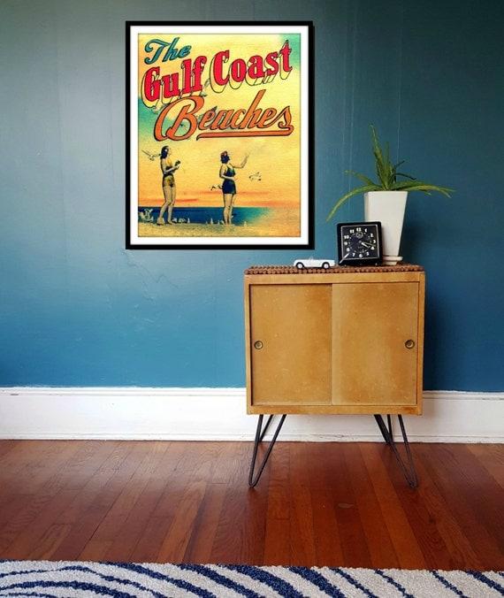 166uG4Lf: Items Similar To Beach Decor Art, 30A Coastal Decor, Gulf