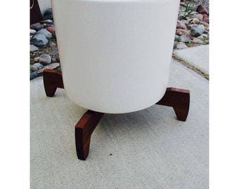 Gainey Ceramics Mid Century Modern White Ceramic Planter Off White Architectural Pottery Ceramic Pot