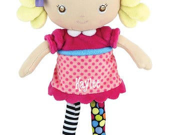 Personalized Jessica the Amazing Baby Bendable Doll - Age 0+
