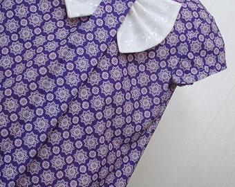 Girls Clothing,Girls Bow Dress, Girls School Dress ,Girls Portrait Dress, Girls Purple  Dress Sizes 5  & 6 only