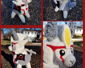Alpacaformers! Drift v2 MADE TO ORDER needle felted soft Transformers doll plush