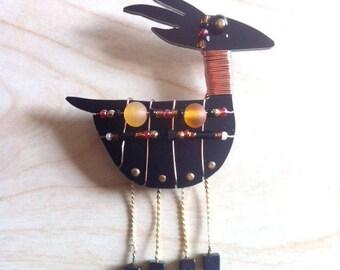 Liztech Jewelry - Anasazi Antelope - Pin - Collectible