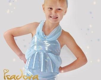 Girls Cinderella Swim Suit