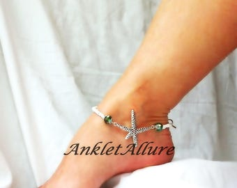 Starfish Anklet Cruise Ankle Bracelet Beach Anklet Body Jewelry
