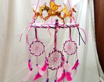 Dream Catcher Mobile, Breyer wind dancers Mobile