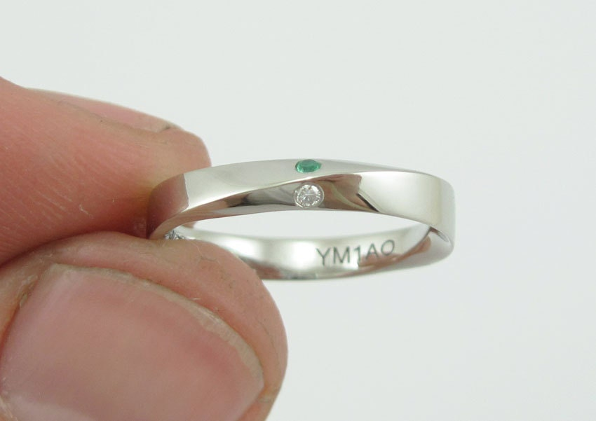 Wedding Ring 45mm Mobius Band Wide