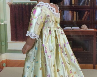 18 Inch Doll Clothes for American Girl Dolls - Regency Dress and Spencer for Caroline or Josefina
