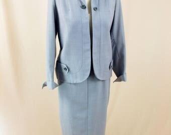 60s Mad Men Suit * 60s Suit * Wiggle Skirt * 1960s Suit * Gray Suit * Wool Suit * Arlene * Mod Suit * Grey Suit * 60s Gray Wool Suit