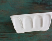 Hull Pottery Planter, Succulent Planter, Vintage Planter, White Ceramic Planter, Made in the USA