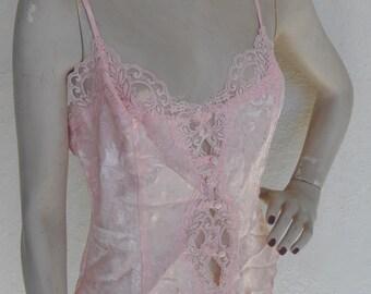 Vintage Camisole Victoria's Secret Size Medium Cami Pink
