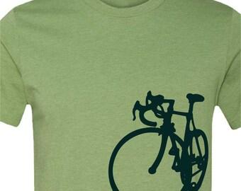 Bicycle T-shirt-La Bicicleta-Road Bike tshirt-6 colors available-Cycling tshirt,bike tshirt,Bicycle tee,bike gift, cycling gift, men's gift