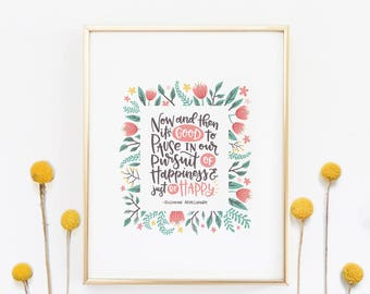 Quotes   Quote Wall Art   Sayings For The Wall   Gift For Her    Inspirational