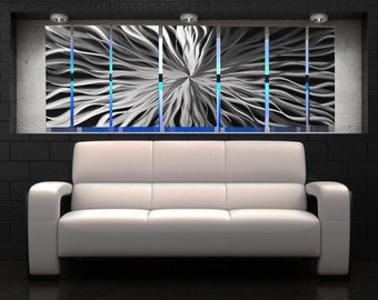Lighted Metal Wall Art   LED Metal Wall Sculpture   Color Changing Wall Art    Modern