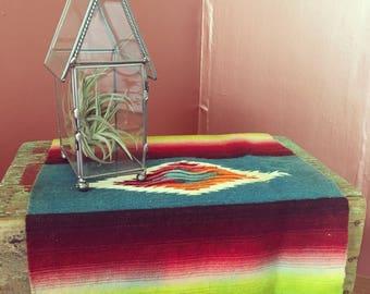 Vintage Glass House Terrarium/ Planter/ Air Plant & Succulent Planter