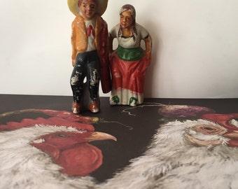 Made in Japan Spanish Ceramic Couple