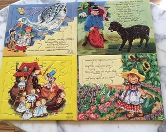 Four Nursery Rhymes Puzzles