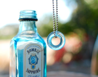Mini Bombay Gin Necklace | Upcycled Recycled Repurposed