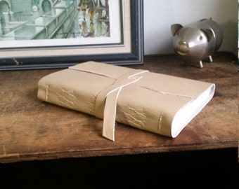 Large Leather Journal, Light Brown Hand-Bound 6 x 9 Journal by The Orange Windmill on Etsy 1765