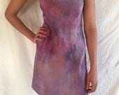 Hand Dyed Silk Slip Dress
