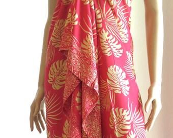 Pink Wrap, Sarong, Pareo
