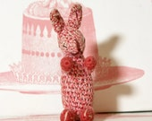 Meet Georgie: An Adorable Knitted Vintage Bunny