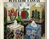 A Year of Boutiques in Plastic Canvas Corner Pattern Book Leisure Arts 1714