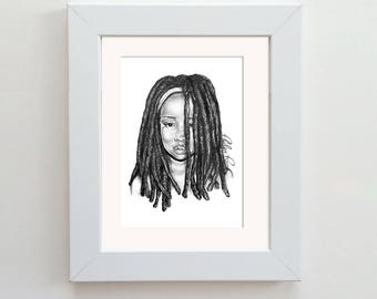 Original Drawing - Loc Love