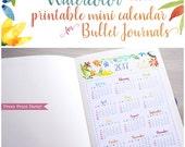 Mini 2017 Calendar printa...