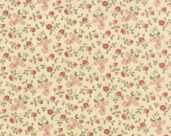 Country Orchard in Cream by Blackbird Designs for Moda - One yard - 2753 17