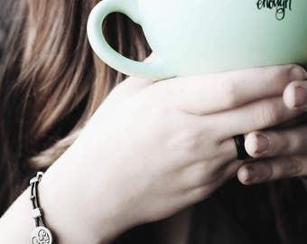 Leather Bracelet, Boho Bracelet, Wrap Bracelet, Leather Button Bracelet, Tree Bracelet, Bird Bracelet, Leather Wraps, Leather Jewelry,