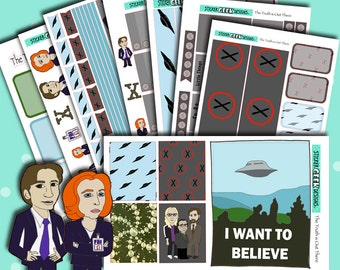 The Truth is Out There Deluxe Kit | Weekly Planner Sticker Kit
