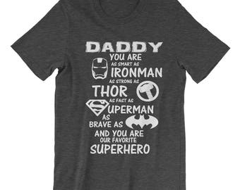 Dad Tshirt, funny dad shirt, gifts for dad, funny dad gifts, dad t shirt, fathers day tshirt, dad birthday tshirt, dad birthday gifts, hero