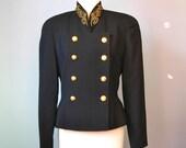 Military Style Jacket / V...