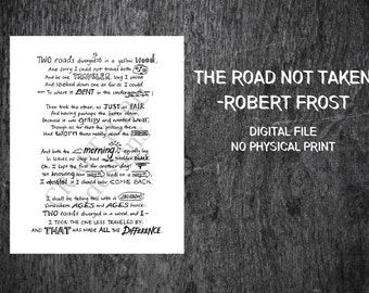 what robert frost intended to convey in his poem the road not taken Regardless of the original message that robert frost had intended to convey, his poem, the road not taken, has left its readers with many different interpretations it is one's past, present, and the attitude with which he looks upon his future that determines light that he will see the poem in.