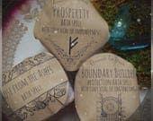 Spell Bomb / Bath bomb // bath fizz // Rose From the Ashes // Bath Soak / Boundary Builder / Prosperity