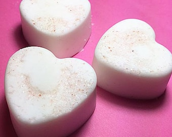 Pink Himalayan Sea Salt Rose Heart Womens Soap, Handmade Soap, Women's Soap, Soap, Homemade Soap, Gift for Her, Handcrafted Soap, Natural