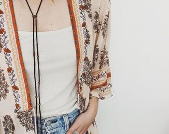 Delaney Wrap Necklace