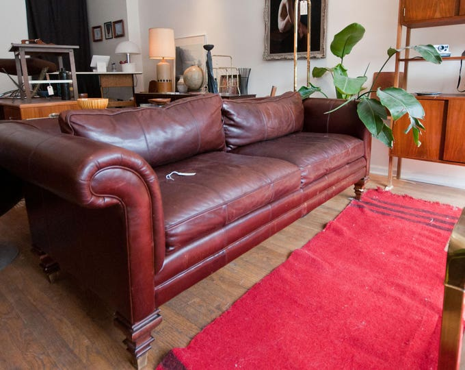 Featured listing image: Ralph Lauren Leather Sofa