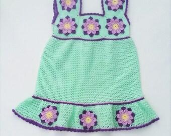Felicity baby dress crochet PATTERN