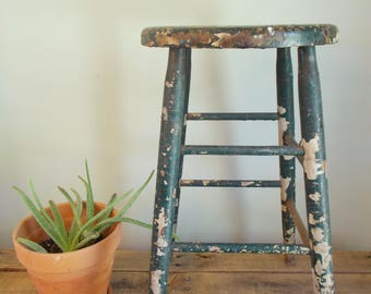 Green Workshop Stool