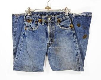 Vintage Levi's 503ZXX Denim Pants (kids) W33 1950's